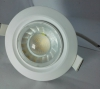 Ceiling Light Recessed 8W COB, Swivel Fitting, 100°