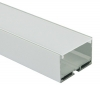 F39 - Suspended / Surface Mounted Channel (Single Block) - Frosted