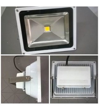 Floodlight, LED 50W for Coastal / Marine