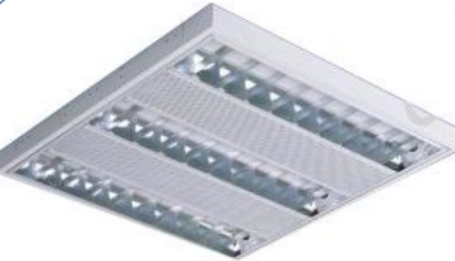 T5 Triple 2ft Grill Light Surface Mounted (M)