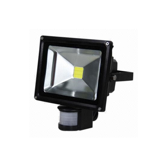 Floodlight, LED 20W PIR motion sensor 12V-DC