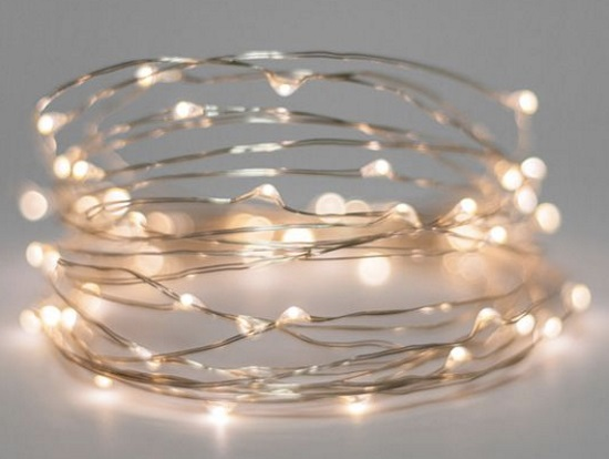 Meteor Fairy Light 10m AC Copper Wire