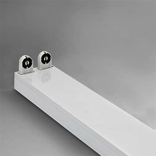 2ft Open Channel Fitting Double wired for LED T8